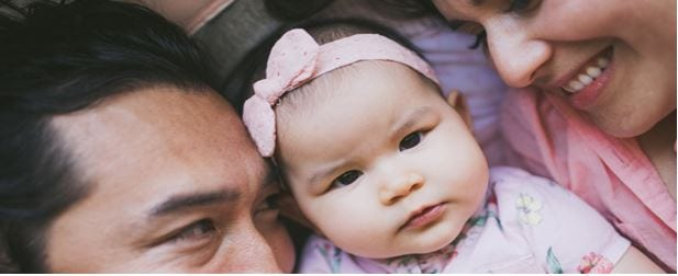 Tax Tips: Welcoming A New Child. Picture of Family